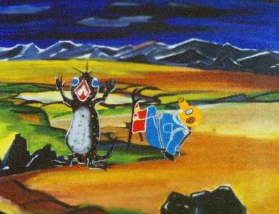 130620(3) – 現存最早(1958年)日本彩色電視動畫《もぐらのアバンチュール》(小鼬鼠的大冒險)膠捲完整出土、預定7/21首播! 4