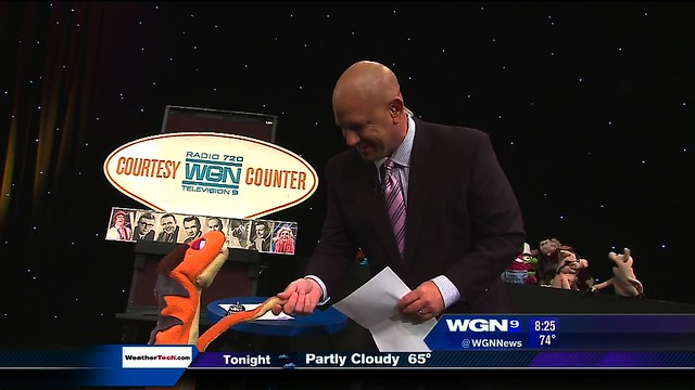 Fuzzy as Ron on WGN Morning News