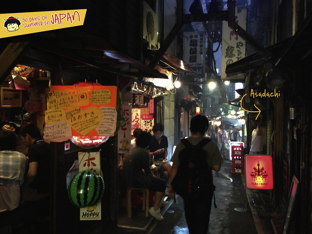 Asadachi in Piss Alley aka Yakitori Alley or Memory Lane Shinjuku