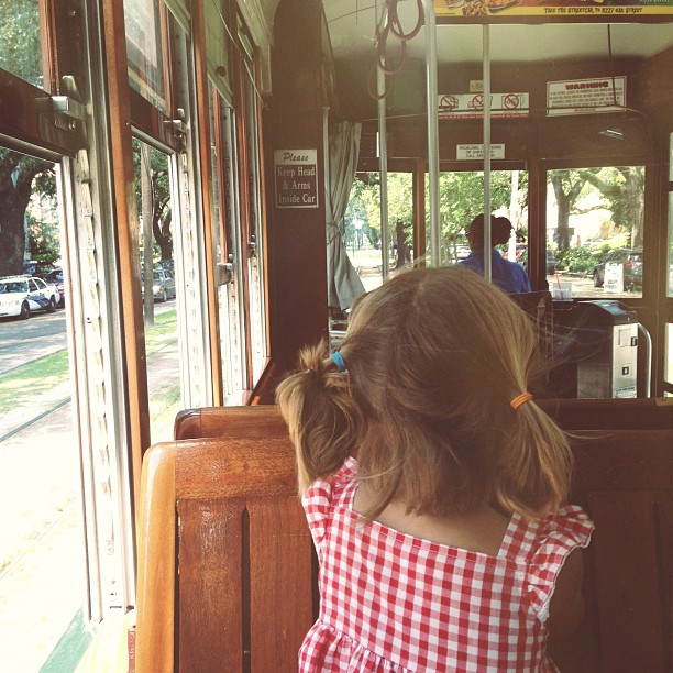 Streetcar rides never get old.