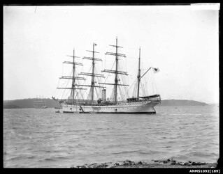 TAISEI MARU at anchor in Sydney Harbour