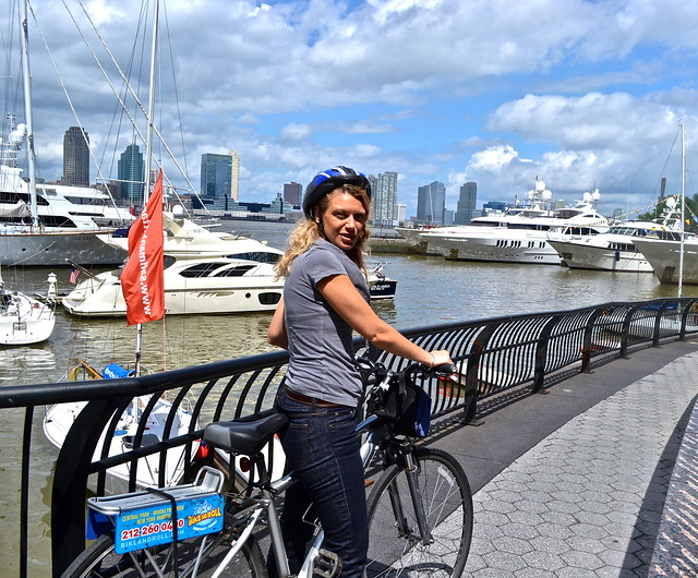 bike rental nyc - Battery Park City Marina