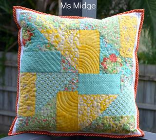 9 Patch Mash up Cushion