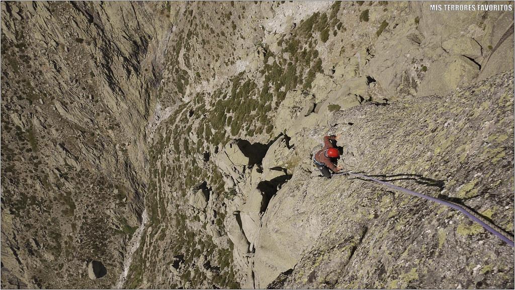 ESPOLÓN VISTRAZU 360 m ED 6b - BERROQUERAS PARED OESTE