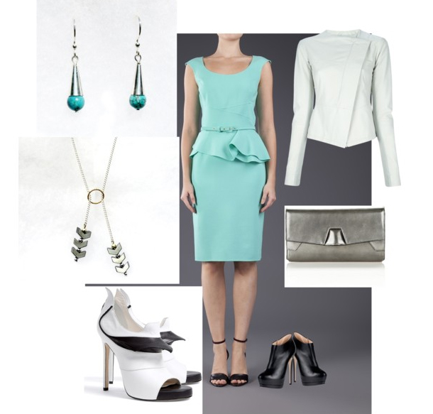 Modern, with and Edge on Polyvore