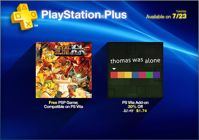 PlayStation Plus Update 7-23-2013
