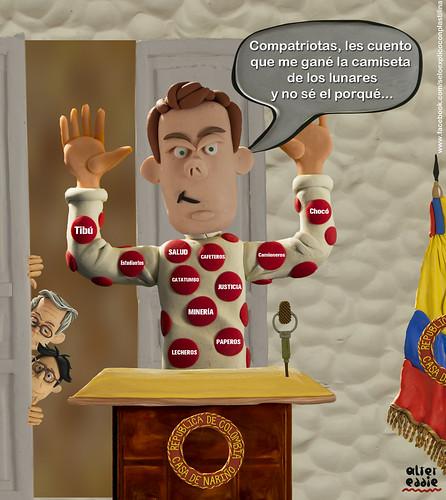 Los lunares de Santos by alter eddie