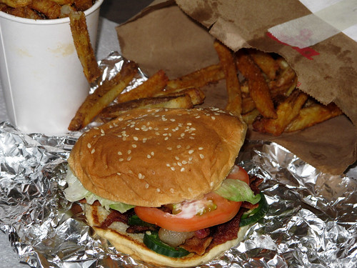 "Jalapeno BLT and ""little"" cajun fries by Coyoty"
