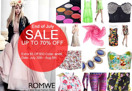 summer romwe sale