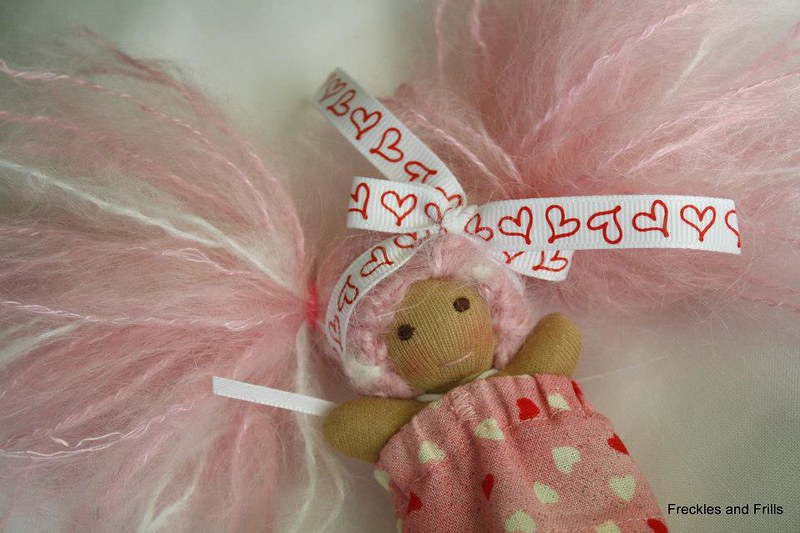 SURPRISE Freckles and Frills Bitty Doll Set