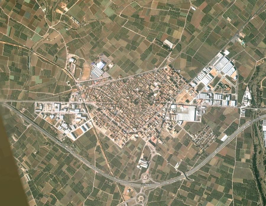 L'Alcudia, Valencia, The Alcudy, el triángulo sin ortofoto no queda cutre ni nada, antes, urbanismo, planeamiento, urbano, desastre, urbanístico, construcción