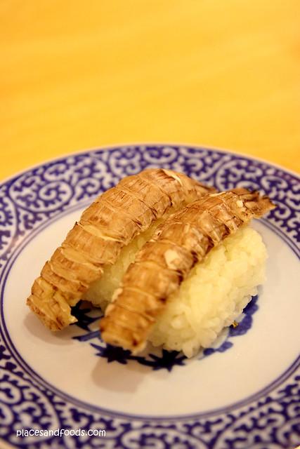 Kura Sushi 無添 くら寿司金閣寺店 mantis prawn