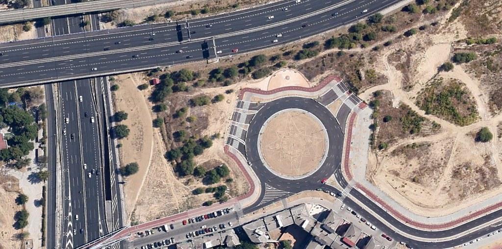 A-2 con M-40, Madrid, glorietas a ninguna parte, gloriet to heaven, dedicada a Wouter, después, urbanismo, planeamiento, urbano, desastre, urbanístico, construcción, rotondas, carretera
