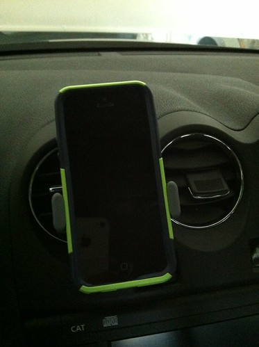 Iphone5 with Otterbox and Airframe