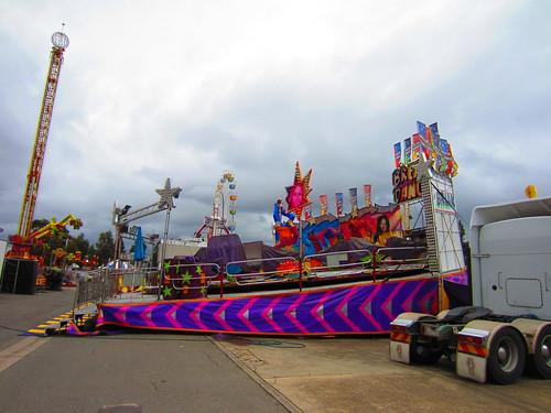 2013 Royal Adelaide Show Setup