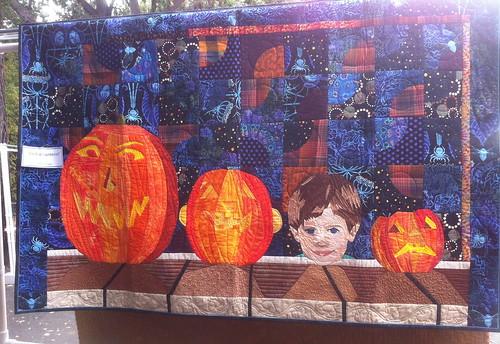 Three Jack o'Lanterns & A Little Punkin!~ Charlene Dakin