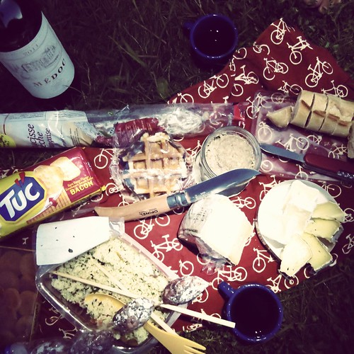 Our daily dinner at camping site