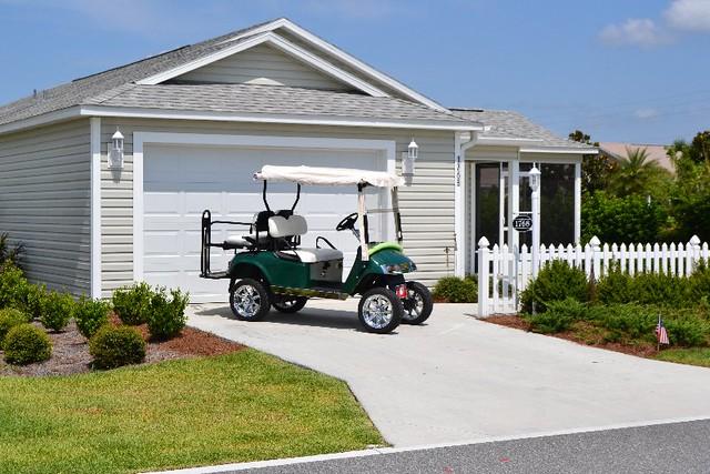 Garage golf cart flickr photo sharing for Golf cart garage door dimensions