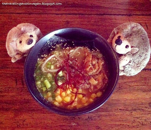 Veggie Miso Ramen - The Dojo, Austin, TX
