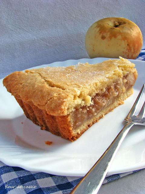 яблочный пирог на песочном тесте 2