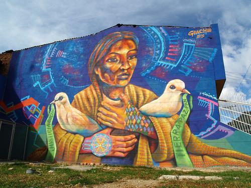 Paz con Pan by . GUACHE