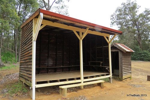 Cundinup School - Lunch Shed & Outhouse