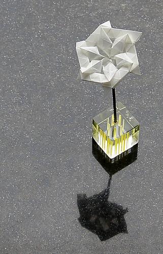Origami Ice Flower