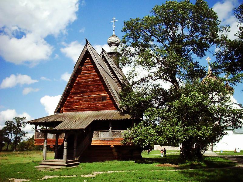 Wooden Orthodox Church copy