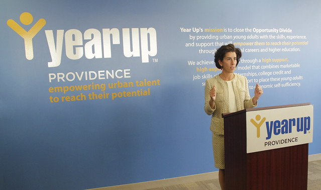 Gina Raimondo Speaking