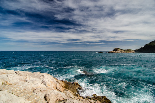 Sky, Water, and Rocks by Flickr User: Michele Ursino