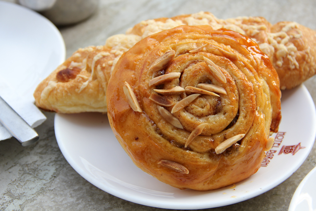 Pastries in Pokhara