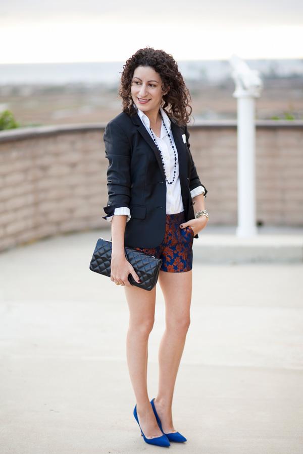 jcrew-copper-bloom-jacquard-shorts-petite-fashion-blogger-blog-san-diego