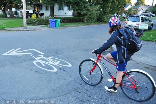 Eleni rides home alone-7