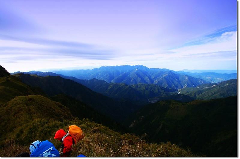 邁向能高南峰 3