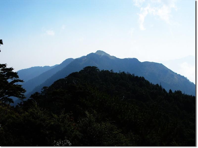 桃山、喀拉業山(From 池有山)