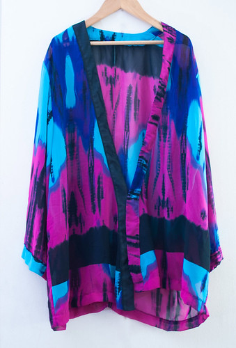 Bed Jacket - Tie Dye