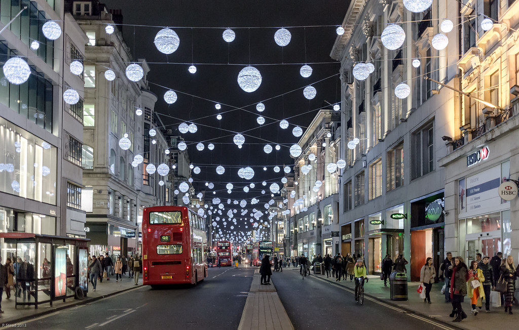 Oxford Street - evening