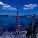 Crater Lake  - Infrared touch by Sruthis Photography