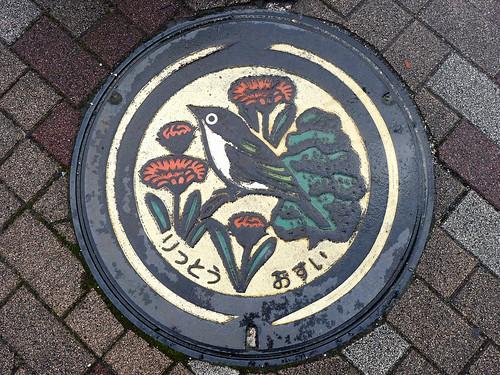 Ritto Shiga, manhole cover 2 (滋賀県栗東市のマンホール2)