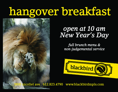 6th annual hangover breakfast