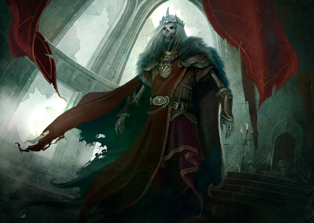 Magic the Gathering MTG Nekusar, the Mindrazer Art Commander EDH