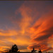 Sunset with not so ordinary clouds by dwight g