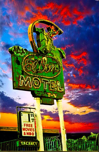 old sunset sky color film sign vintage lost tv neon free albuquerque motel el 66 historic route movies historical don nm vacancy hbo 90s replaced onasill