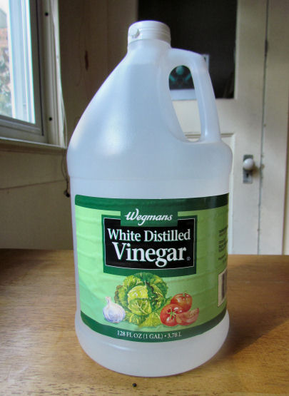 White Vinegar for Fabric Softener