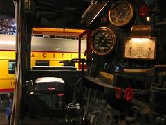 inside the cab