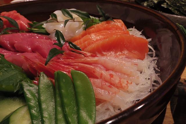 大晦日、手巻き寿司