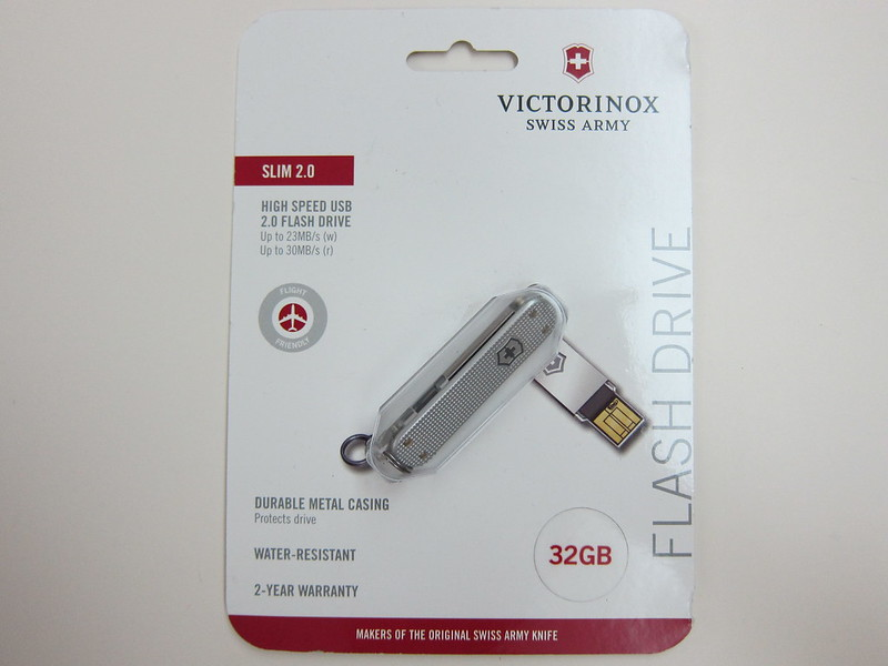 Victorinox Swiss Army Flash Drive - Packaging Front