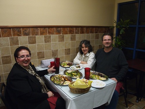 Dinner at Hayat's Kitchen, North Hollywood, CA - 14