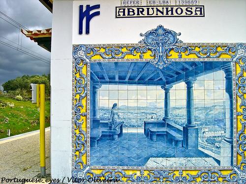 Apeadeiro Ferroviário de Abrunhosa-a-Velha - Portugal