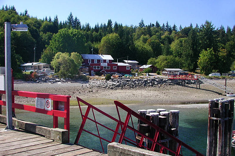 Squirrel Cove, Cortes Island, Discovery Islands, British Columbia, Canada